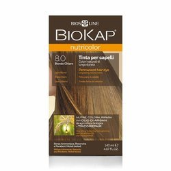 BIOKAP NUTRICOLOR 8.0 Jasny Blond, 140ml