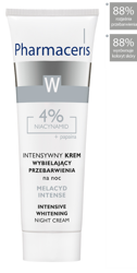 PHARMACERIS W MELACYD INTENSE Krem na noc, 30 ml
