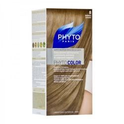 PHYTO COLOR No 8 Jasny Blond,(40+60+12)ml