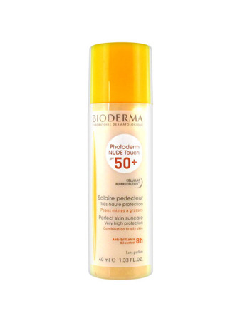 BIODERMA PHOTODERM NUDE TOUCH SPF50+, odcień naturalny