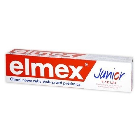 ELMEX Pasta do zębów Junior 7-12 lat, 75ml