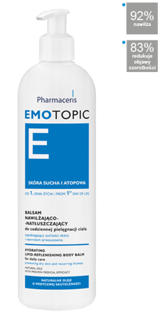 PHARMACERIS E EMOTOPIC Balsam,400 ml