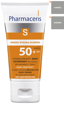 PHARMACERIS S SUN PROTECT Krem SPF50+, 50ml