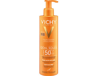 VICHY IDEAL SOLEIL Mleczko Anti-Sand SPF50, 200 ml