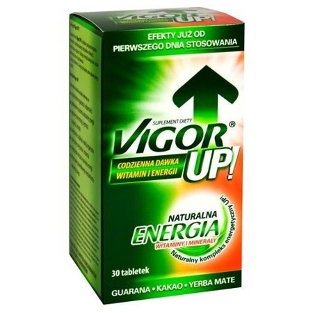 Vigor UP , 30 tabletek