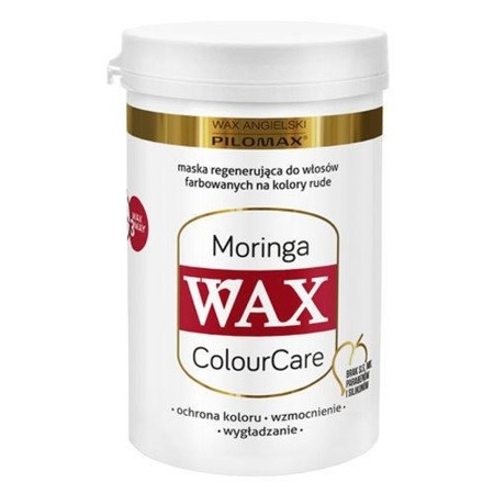WAX ANGIELSKI PILOMAX ColourCare Moringa Maska, 240 ml